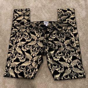 ASOS Denim | Black and Gold Pants